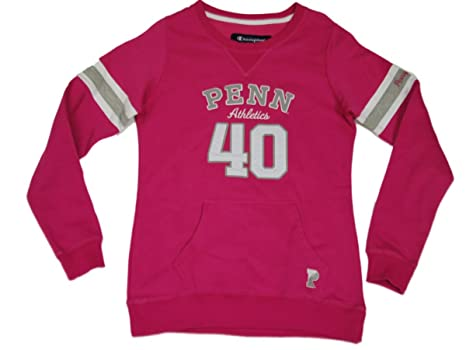 more photos 2539a 4844e Amazon.com : Champion Pennsylvania Quakers Women Pink Jersey ...