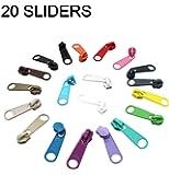 ZipperStop Wholesale - Zipper Repair Kit Solution YKK Long Pull Zipper Heads- 4.5mm Loose Sliders/pulls -Choice of…
