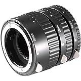 NEEWER 13mm 20mm 36mm AF マクロ接写リング/エクステンションチューブセット Nikon SLRとNIKKOR AF、AF-S、D、GおよびVRレンズシリーズ対応 【並行輸入品】