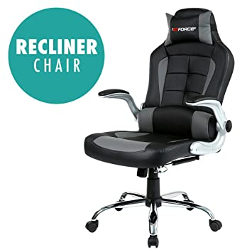 GTFORCE BLAZE RECLINING LEATHER SPORTS RACING OFFICE DESK CHAIR GAMING COMPUTER (Gray)  sc 1 st  Amazon UK & GTFORCE BLAZE RECLINING LEATHER SPORTS RACING OFFICE DESK CHAIR ... islam-shia.org