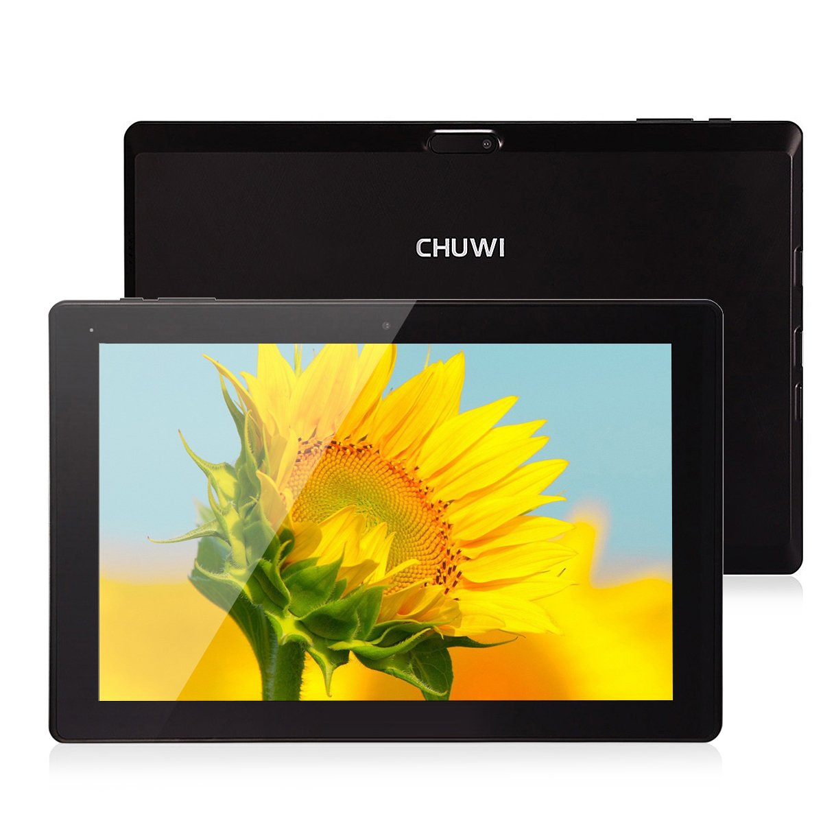 CHUWI Hi10 Tablet PC 10.1'' IPS 1920 x 1200 Dual OS Windows 10 & Android 5.1 4GB/64GB Intel Cherry Trail Z8350 64bit Quad Core Dual Cams Support Wifi Type-C TF Card Extend by CHUWI