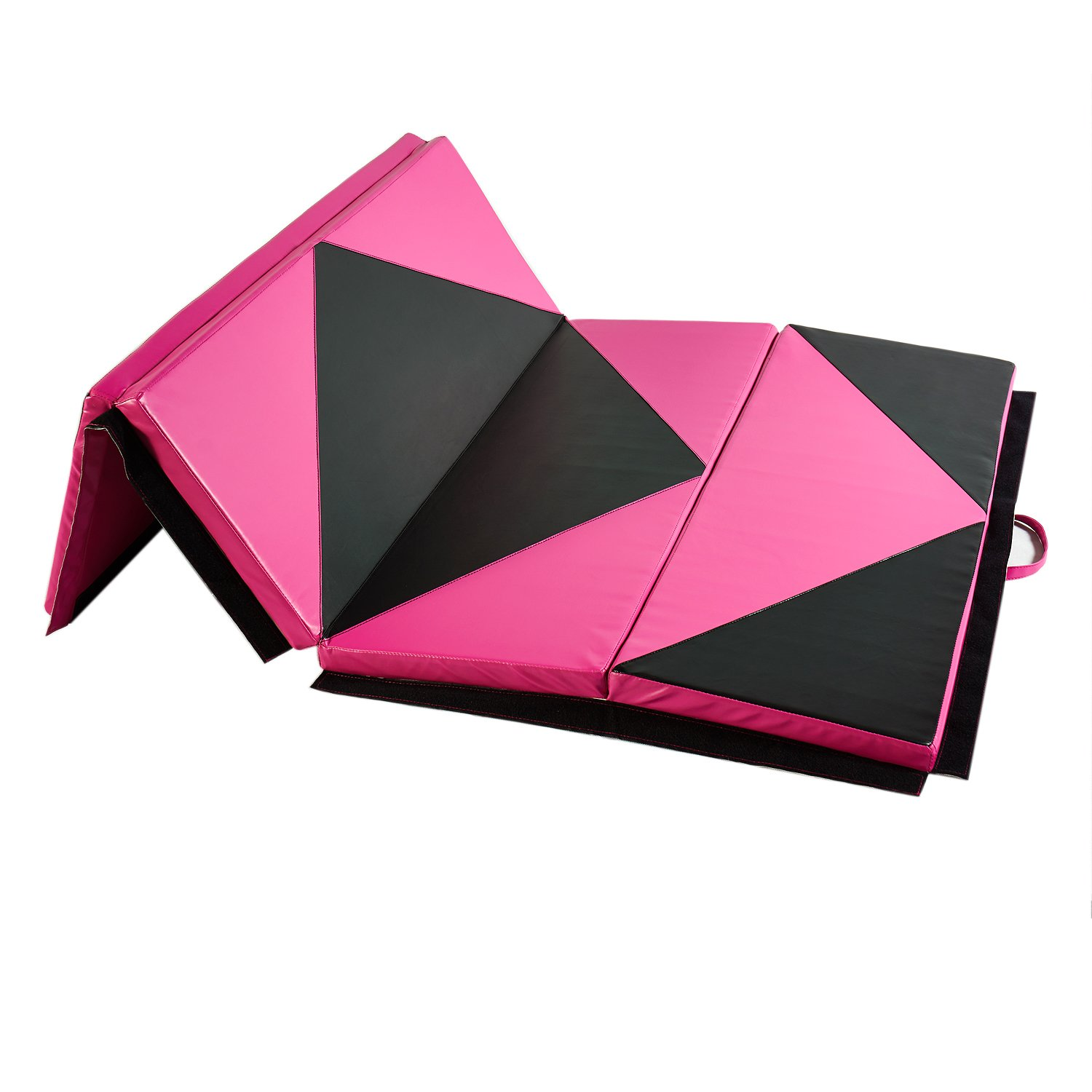 Doitpower Thick Fold Gymnastic Mat With Handles And Zipper