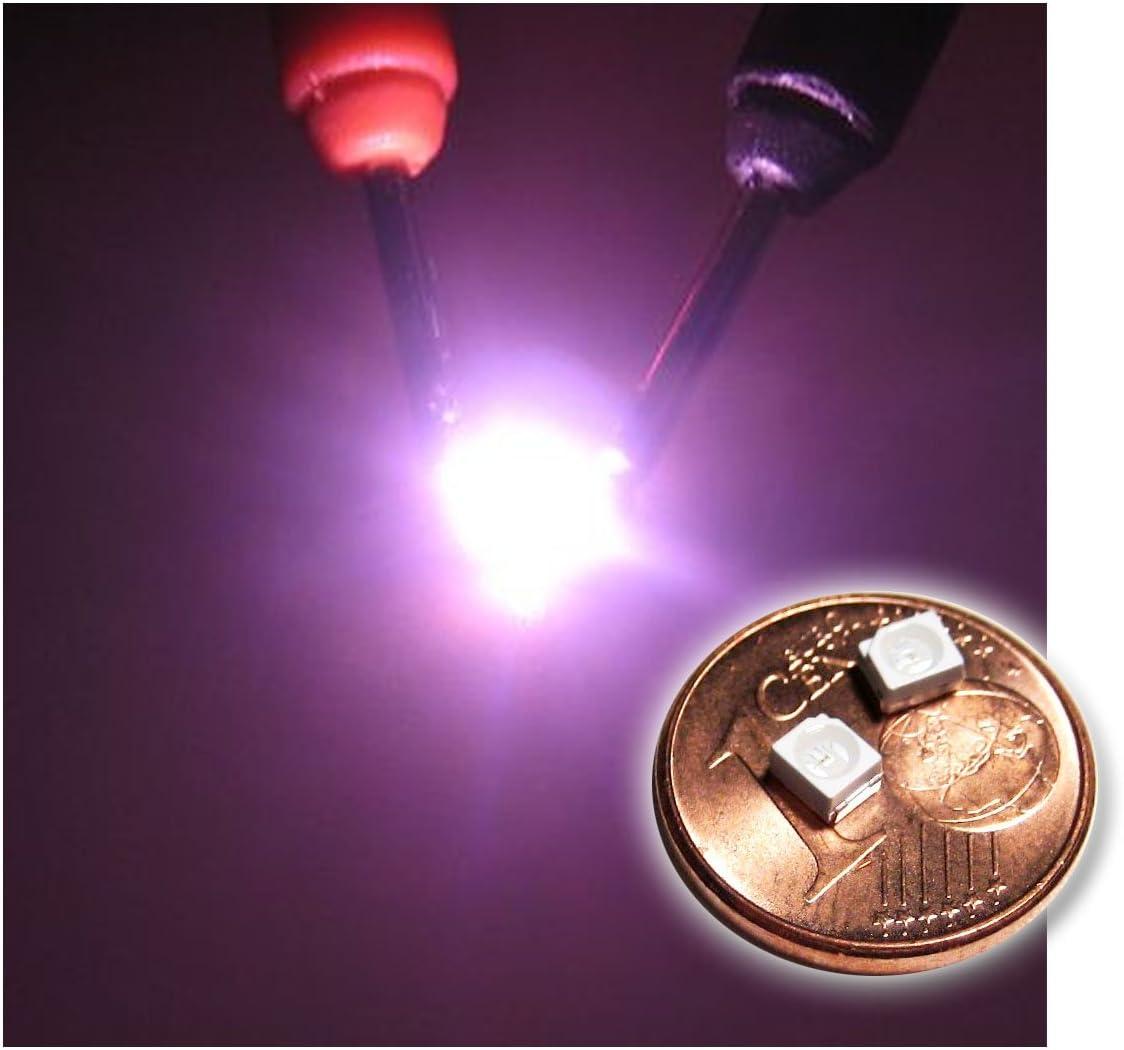 World Trading Net 20 Smd Led Plcc 2 3528 Pink Rosa Elektronik