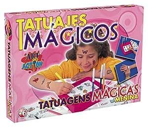 Falomir 646479 - Juego Tatuajes Mágicos Niña