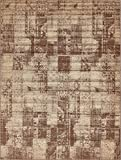 Unique Loom Autumn Collection Casual Solid Vintage Warm Toned Brown Area Rug (9' 0 x 12' 0)