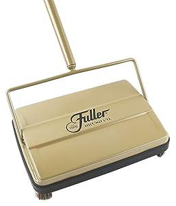 "Fuller Brush Electrostatic Carpet & Floor Sweeper - 9"" Cleaning Path (Gold)"