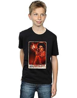 Michael Jackson Boys Thriller Stance T Shirt