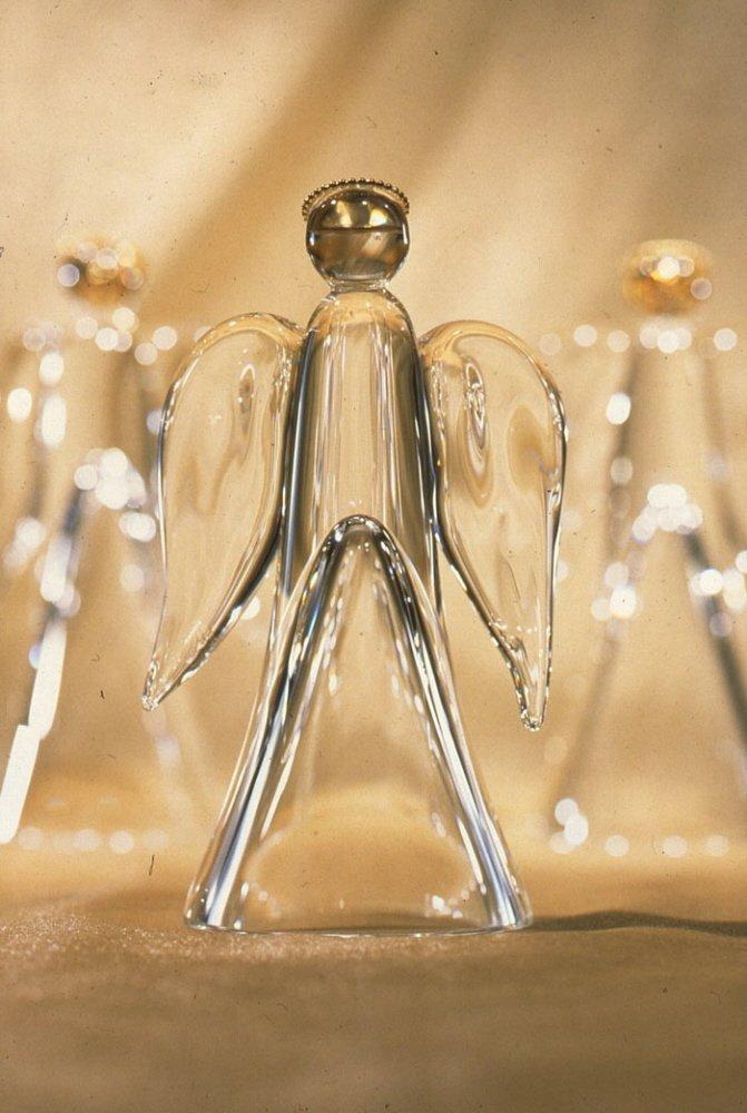 Steuben Glass Golden Angel
