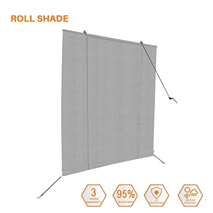 Amazon Com Sunshades Depot Exterior Roller Shade Roll Up Shade For