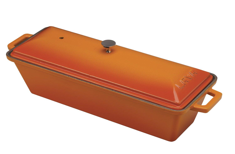 Lava Enameled cast-iron Bread /テリーヌパン、3 by 10-inch 3 x 10 inch オレンジ LV P EK 826 ORG B00FQ9CDD2  Orange Spice