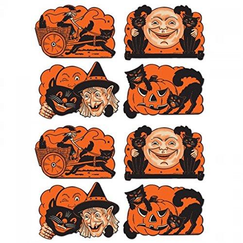 8 Vintage Halloween Cutouts 9