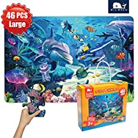 Floor Puzzle for Kids Grown Up Puzzles for Children Age 3+