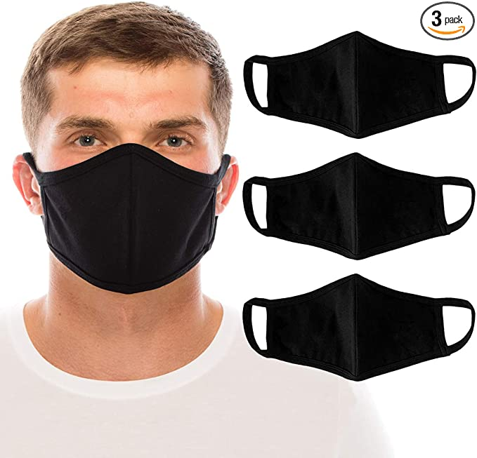 10 Pack Pink Face Mask Cotton Double Layer Cover Washable Reusable Unisex USA