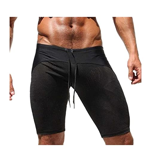 Gogolan Men s Workout Shorts Fishnet Quick Dry Bodybuilding Board Shorts  (M f9f4213cf2bd