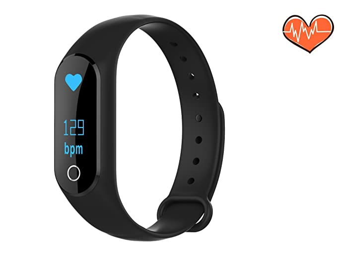 Amazon.com : MINI LIFE Fitness Tracker, Touch Screen Sport Smart Watch with Heart Rate, Calorie Calculation, Sleep Monitoring, Pedometer, Sleep Monitoring, ...