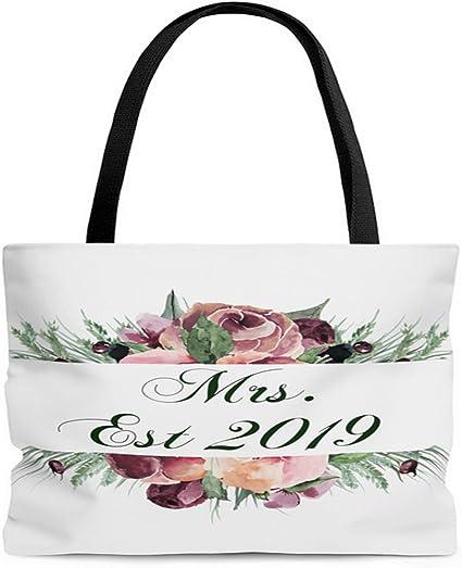Florals AOP Tote Bag
