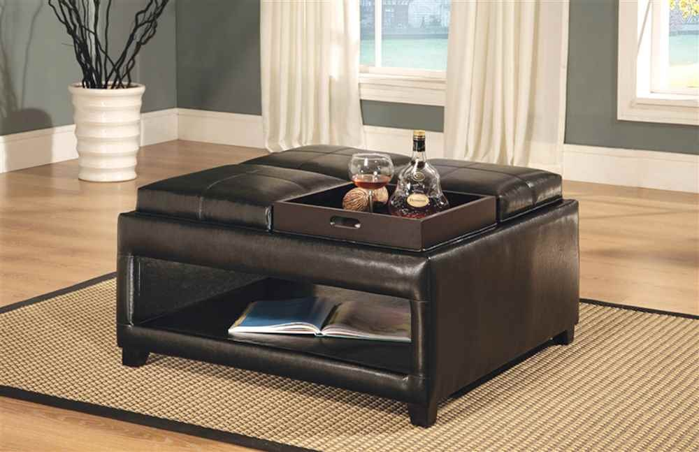 vega beyond homelegance w ottoman square storage cocktail table