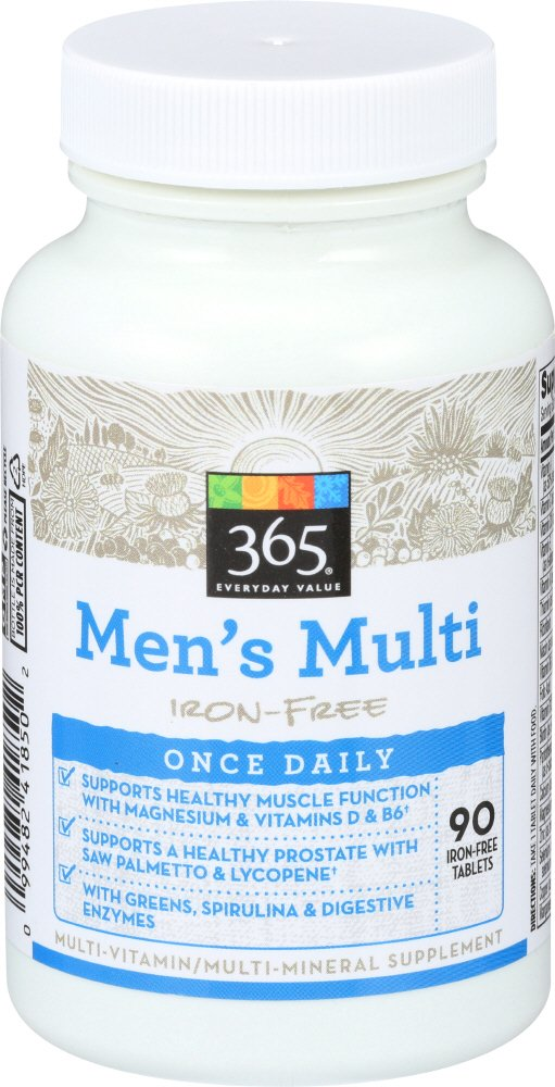 Amazon.com : 365 Everyday Value, Mens Multi Once Daily, 90 ct : Grocery & Gourmet Food