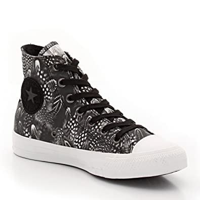 468eb26f317ead Converse Womens Ctas Feathers Hi High Top Lace-Up Trainers  Amazon.co.uk   Shoes   Bags