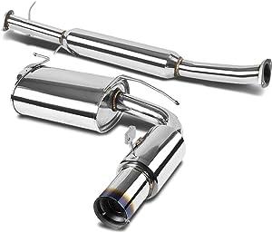 DNA Motoring CBE-MM90-BT CBEMM90BT Catback Exhaust System [for 90-97 Mazda Miata MX-5 1.6L/1.8L]