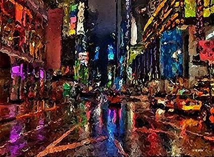 amazon com new york night lights times square broadway musical
