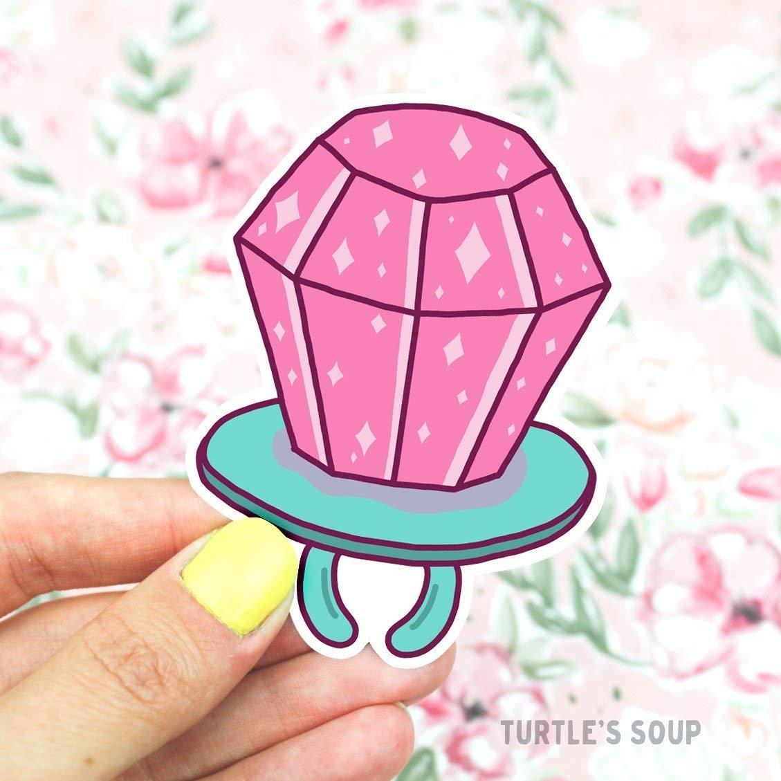 Amazon com ring pop sticker 90s decal laptop sticker vaporwave tumbler decal sugar decal ringpop candy sticker feminine pink girly sticker