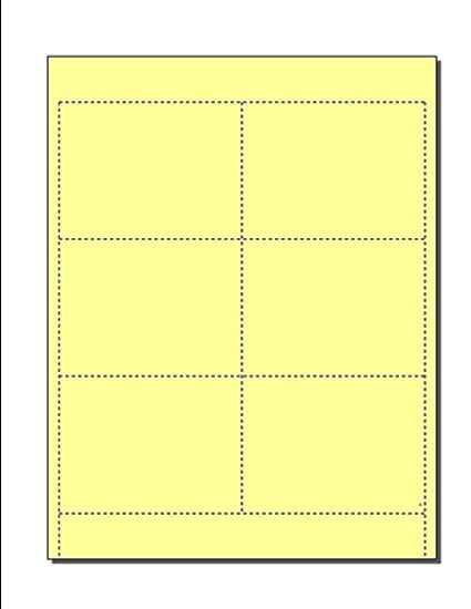 """En blanco tarjetas para fundas de identificación, listo para imprimir en 8.5 """"x"""