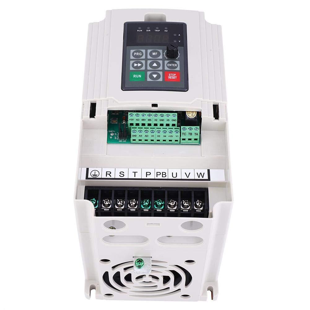 entr/ée et sortie convertisseur de variateur de fr/équence /à fr/équence variable 1.5KW-7.5KW VFD triphas/é 380V convertisseur de variateur de fr/équence CNC Variateur de fr/équence 5.5KW