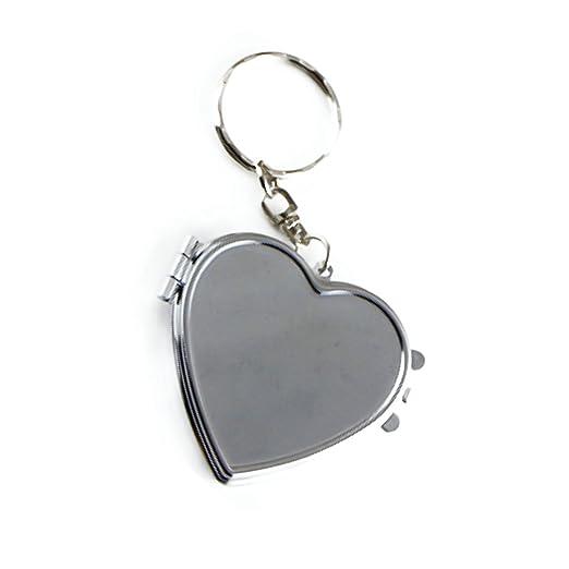 SkyEye 1 pc Creative forma de corazón llavero llavero bolso ...
