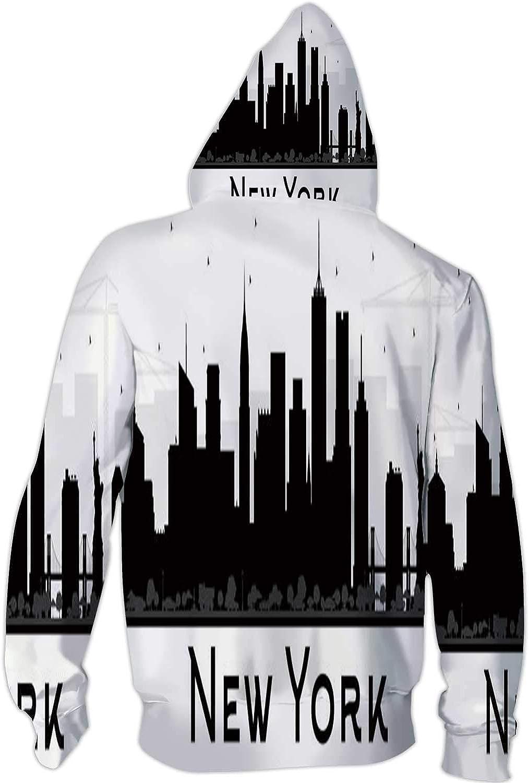 C COABALLA Winter Scenes,Ladies Full Zip Fleece with Pocket Xmas Gift XS877 S