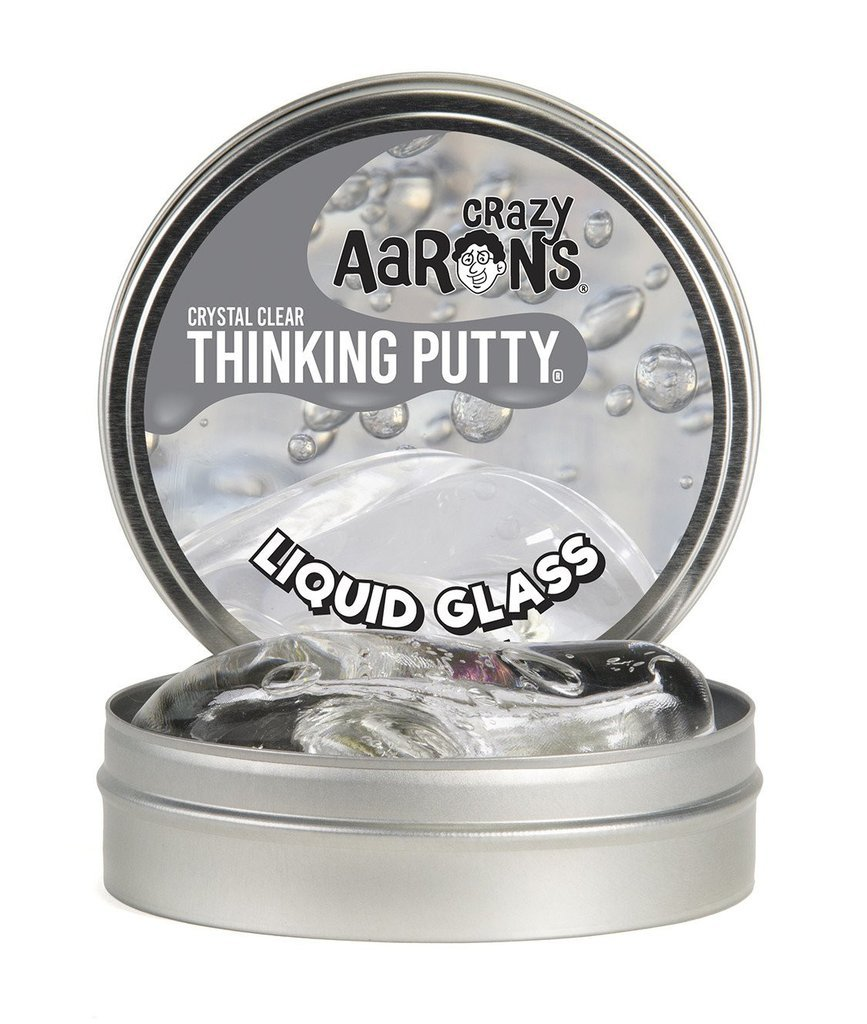 Crazy Aaron Thinking Putty Clear Glass