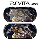 Decorative Video Game Skin Decal Cover Sticker for Sony PlayStation PS Vita Slim (PCH-2000) - Kingdom Hearts Birth by Sleep