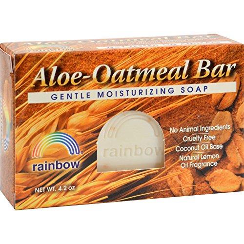 (Rainbow Research Bar Soap Aloe Oatmeal - 4 oz - (Pack of 3))