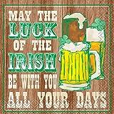 Luck Of The Irish Saint Patrick's Day Cocktail Napkins, 16ct