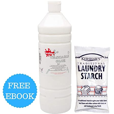 Pva glue 1l and laundry starch for making slime slime making kit pva glue 1l and laundry starch for making slime slime making kit for kids ccuart Choice Image