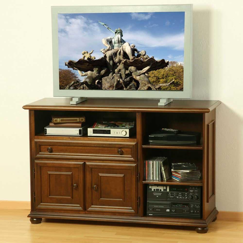 Sideboard nussbaum antik  TV-Sideboard aus Nussbaum Antik Italienischer Stil Pharao24 ...