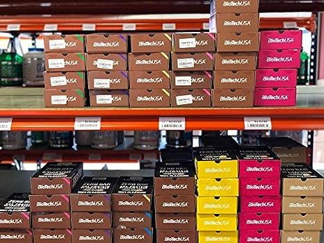 Proteína biotech USA ZERO Bar Proteínas cerrojo Caja, 20 x ...