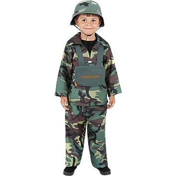Traje de soldado para niños disfraz militar carnaval atuendo ...