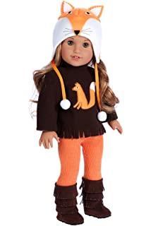 Amazoncom Doll Clothes 4 Pc Outfit Fit For 18 Inch American Girl