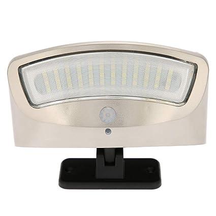 Luces Solares Exterior, Luz Solar Jardín LED, Luces de Exterior con Sensor de Seguridad
