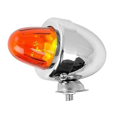 GG Grand General 80481 Cr. Bullet Amber Marker Light w/o Visor: Automotive