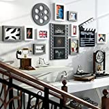 Photo Wall Modern Simple Decorative Photo Frame Wall Sofa Background Photo Wall Album Wall Creative Portfolio Living Room Restaurant Home Photo Wall