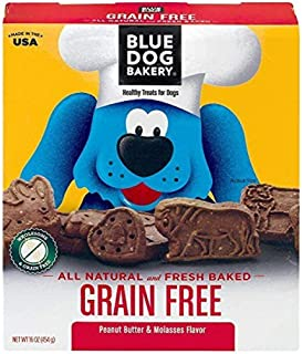 product image for Blue Dog Bakery Healthy Treats For Dogs Grain Free Peanut Butter & Molasses, 16.0 OZ