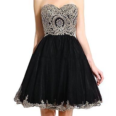 Black Corset Cocktail Dresses