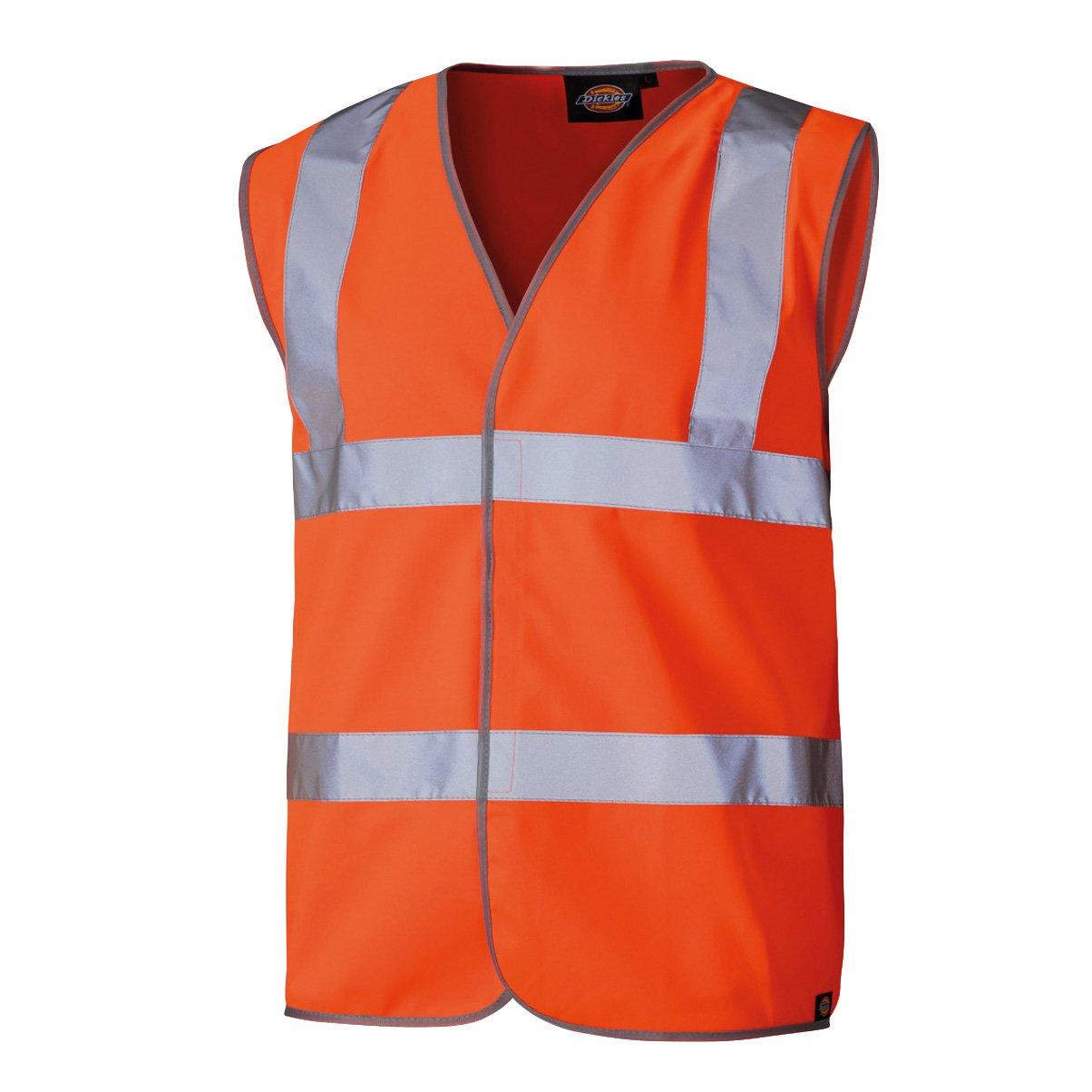 Dickies Sicherheitsweste mit Klettverschluss gelb AA XXL, SA22010 SA22010 AA XXL