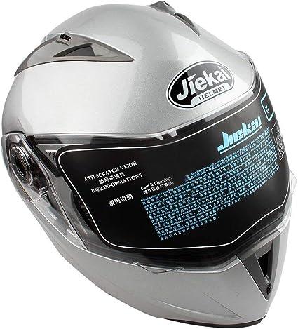 Amazon.es: Doble Visera Casco Moto Modular ECE, Casco de Moto ...