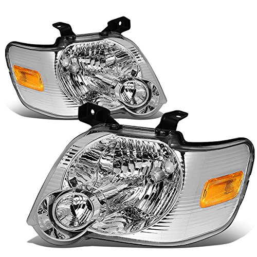 DNA MOTORING HL-OH-FEXP06-CH-AM, Headlight Assembly, Driver and Passenger ()