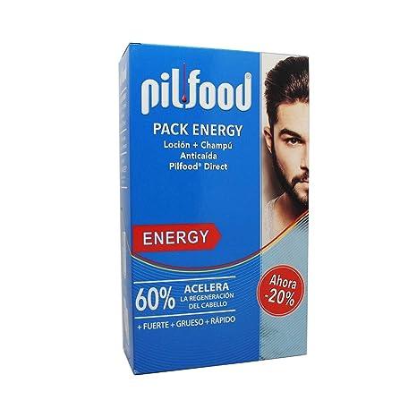 PILFOOD Pack Energy (Loción + champú anticaída)