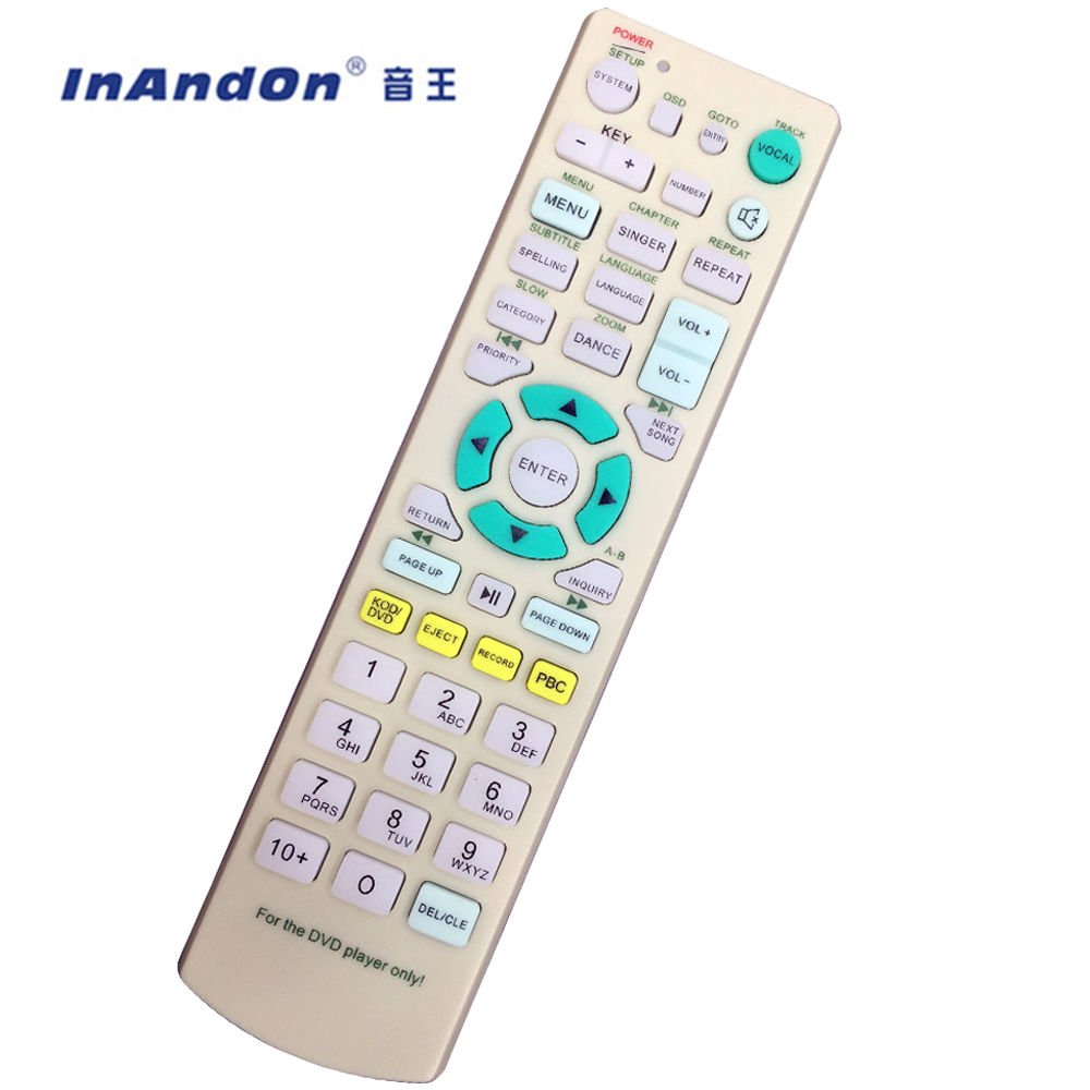 Remote Controller for Inandon karaoke player