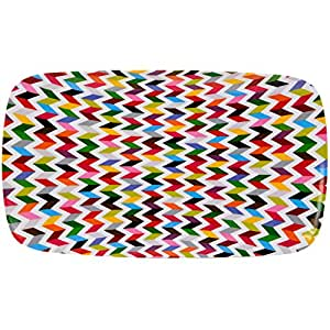 French Bull -  Melamine Serving Platter - 13-1/2-Inch by 8-Inch Serving Tray - for Indoor and Outdoor Entertaining - Ziggy
